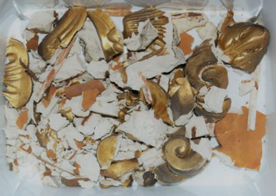1000 Teile Puzzle des zerstörten Ornamentes